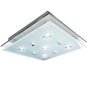 Jago BADL01 Ceiling Light approx. 38 x 38 cm