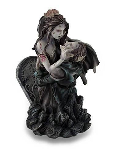 Unfortunate Zombie Lovers Graveyard Wedding Statue