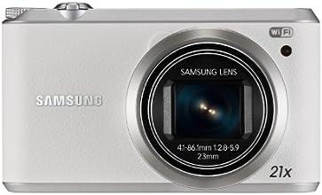 Samsung WB350F Smart Camera, 16.3 Megapixel, Display 3.0 Pollici, Bianco