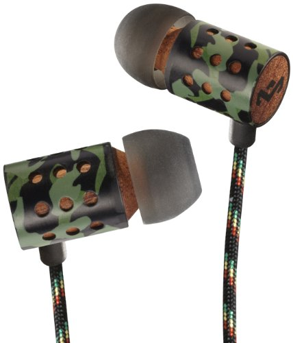 House Of Marley Em-Je023-Rv Midnight Ravers - Jammin' In-Ear Headphone With 3-Button Mic - Revolution