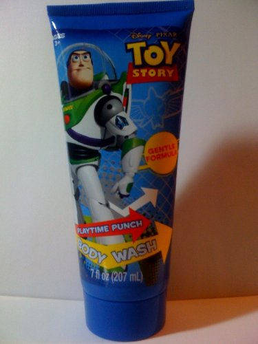 Disney Pixar Toy Story Body Wash Playtime Punch Gentle Formula 7fl oz. (207mL)