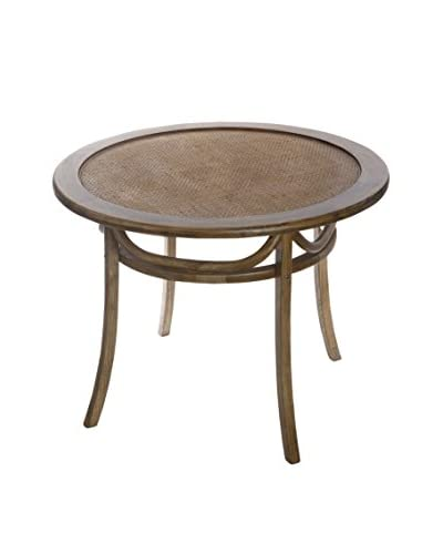 David Tutera Bistro Dining Table, Brown