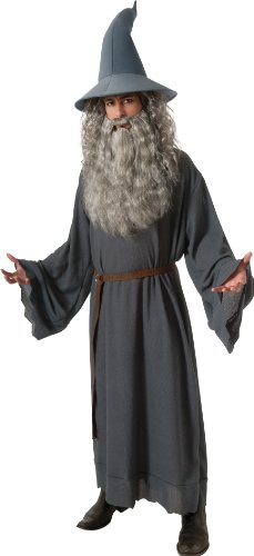 The Hobbit Gandalf, Gray, One Size Costume