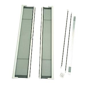 Brisa retractable screen door finish white for Brisa retractable screen door
