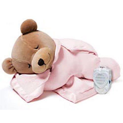 PRINCE LIONHEART, Orsacchiotto di peluche Tummy Sleep, Rosa (Rose clair)
