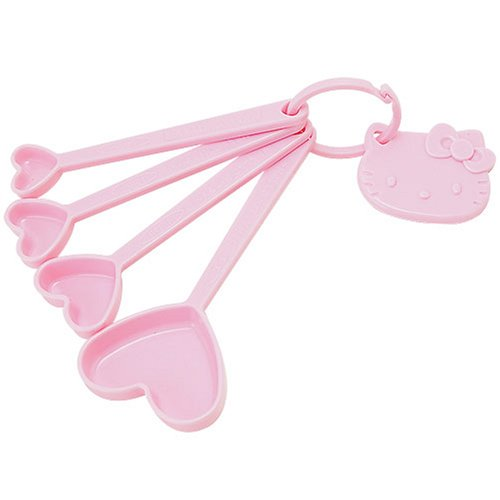 Hello Kitty Measuring Spoon Set: Kitchen