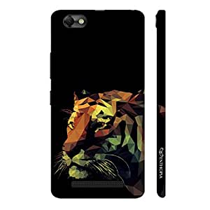 Enthopia Designer Hardshell Case 3D Tiger Back Cover for Lenovo Vibe A2020