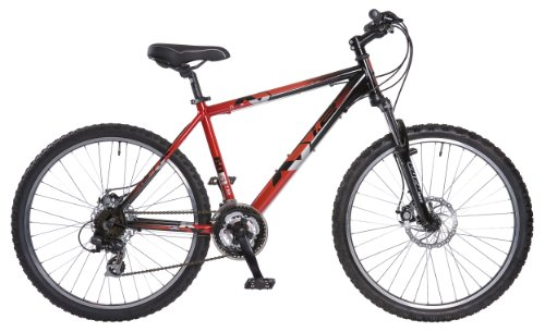 Dawes Xc1.2 Disc Men's Mountain Bike - Red/Black, 16 Inch