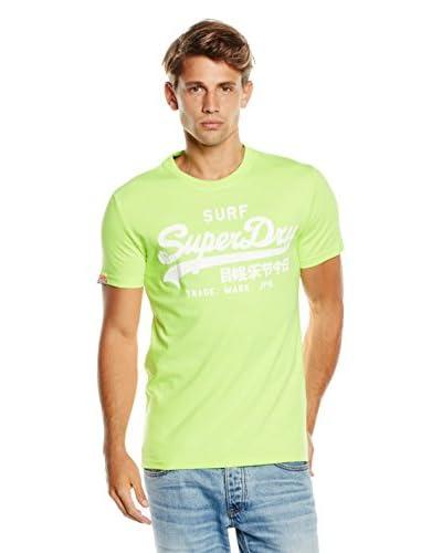 Superdry Camiseta Manga Corta Lima