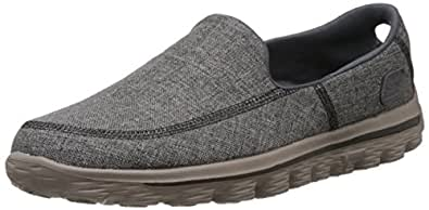 Skechers Men's GO Walk 2 - Cruise Charcoal Gymnastics Shoes - 8 UK/India (42 EU) (9 US)