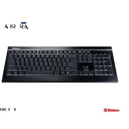 KB010U-B 超薄型!ボディトップにアルミを採用した重圧感あふれるスタイリッシュキーボード AURORA Lite