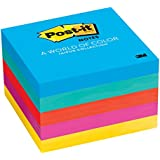 Post-it Notes, 3 in x 3 in, Jaipur Collection, 5 Pads/Pack (654-5UC)
