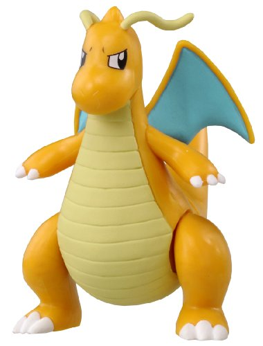 Takaratomy Pokemon XY Monster Collection Super Size MSP Dragonite Action Figure - 1