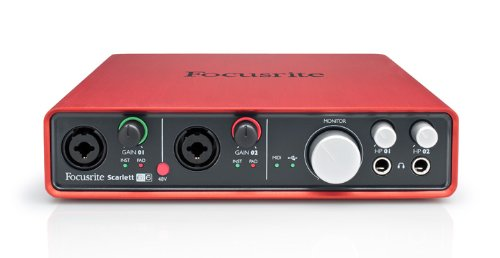 Cheap Focusrite Scarlett 6i6 6 In/6 Out USB 2.0 Audio Interface With Two Focusrite Mic Preamps