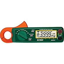 Extech 380942 30 Ampere True RMS AC/DC Mini Clamp on Meter