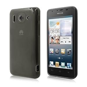 Schicke Schutzhülle für Huawei Ascend G510 - Ultra Slim in Transparent Schwarz von PrimaCase