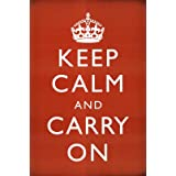 Keep Calm and Carry On Poster Print, 24x36 Poster Print, 24x36 ~ Generic