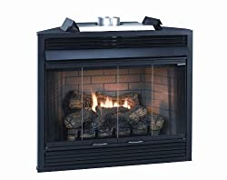 Empire Bi-fold Glass Fireplace Doors - For 42 Inch Keystone Premium Fireplaces from Empire