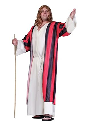 Amazon.com: Moses Tunic and Robe Adult Costume Size X-Large: Mens Plus