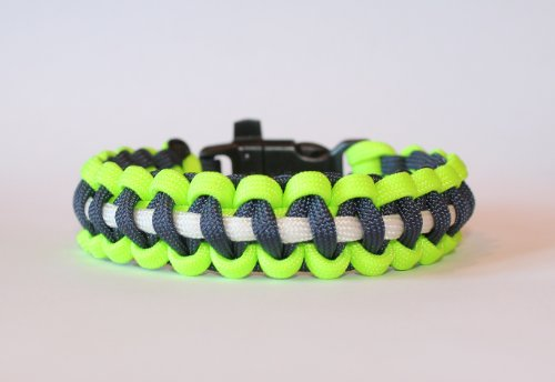 SENC-550-NFL-Military-Spec-Paracord-Survival-Bracelets-Seattle-Seahawks