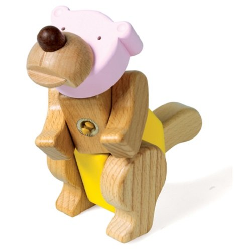Smart Gear Click 'N Play Bear Building Set - 1