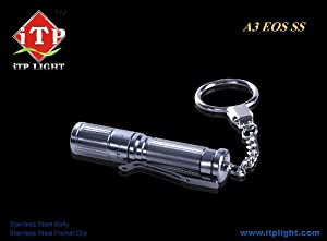 iTP A3 EOS Titanium 80 Lumen Flashlight - 1 X AAA battery