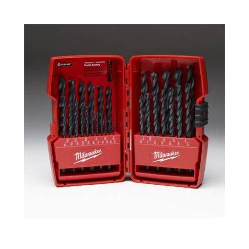 Milwaukee 48-89-2802 29 Piece Thunderbolt Black Oxide Drill Bit Set