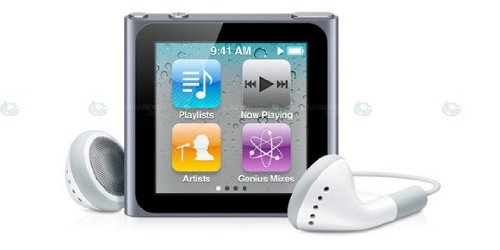 Apple iPod Nano 6th Generation 8Gb (Silver) MC525LL/A