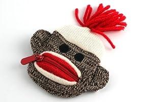 Sock Monkey Coin Purse