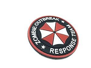 """Airsoft - Patch Velcro PVC Parapluie """"Zombie Outbreak Response Team"""""""