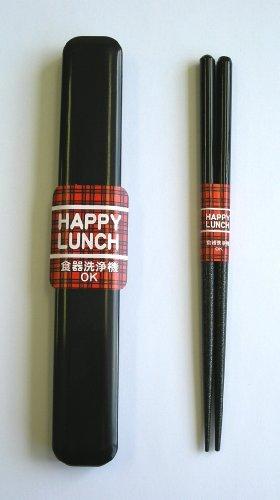 caso-palillos-palillos-aoba-lavaplatos-18cm-negro-almuerzo-feliz-japn-importacin-el-paquete-y-el-man