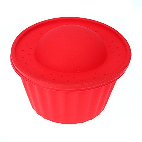 Docooler Silicone Cake Cupcake Mold Mould 3 Pieces Cupcake Fondant Baking Kit