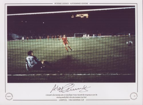 Alan Kennedy Liverpool Scores European Cup Final 84 – Signed Ltd Ed
