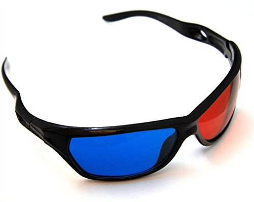 3D Brille 3D VISION discovery Rot/Cyan Rot Blau Anaglyphenbrille Brille
