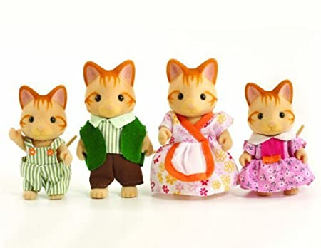 Sylvanian Families Ginger Cat Family by Sylvanian Families