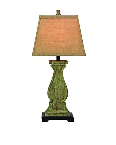 City Scape Galiano Lamp, Green