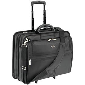 Targus XL Rolling Case Designed for 17-Inch Notebooks, Black (TXL717)