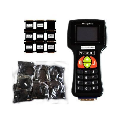 Diagnostic Code Reader Locksmith Tool S-Key programmer T300 + V9.2 T300