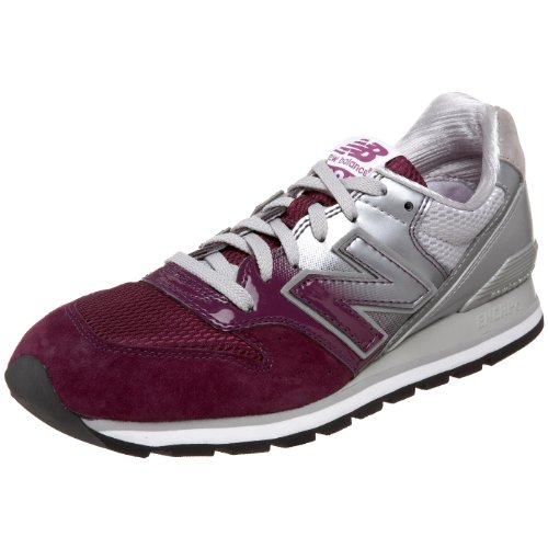 New Balance Men's Cm996 Classic Running Shoe,White/Purple,9.5 D