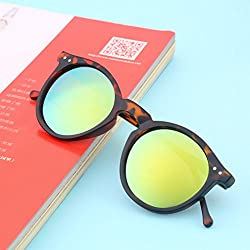 Maxade(TM) Newest Vintage Retro Unisex Mirror lens Round Glasses Steampunk Sunglasses Hot Sale New