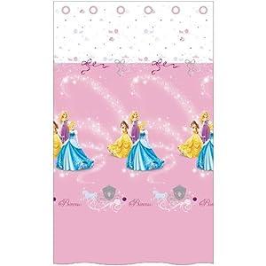 Cti 040874 Cortina Disney Princess Pluie D'Etoiles, Poliéster, 140 x 240 cm