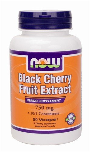 Black Cherry Extract Therapeutic Properties, 90 Vcaps, 750 mg, From NOW (Now Black Cherry Extract compare prices)