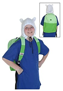 Adventure Time Finn Hood Costume Backpack