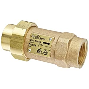 Image Result For Dual Check Valve Backflow Preventer
