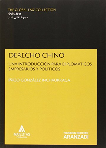Derecho Chino (The Global Law Collection)