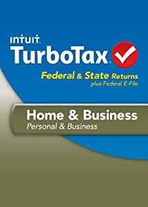 TurboTax Home and Business Fed + Efile + State 2013 + Refund Bonus Offer [Old Version]