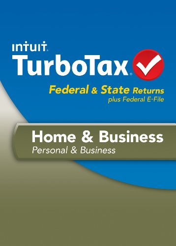 TurboTax Home and Business Fed + Efile + State