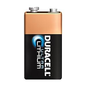 Duracell Ultra Lithium 9 Volt Battery