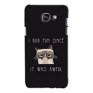 ColourCrust Samsung Galaxy A7 A710 (2016 Edition) Mobile Phone Back Cover With Quirky Style - Durable Matte Finish Hard Plastic Slim Case