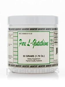 Montiff Pure L-Glutathione Powder, 50 Grams